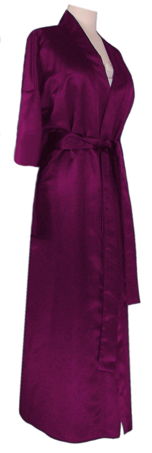 b0a2d4ba37 SALE! Plus Size Cotton or Satin Robes - Beautiful Lightweight Satin ...