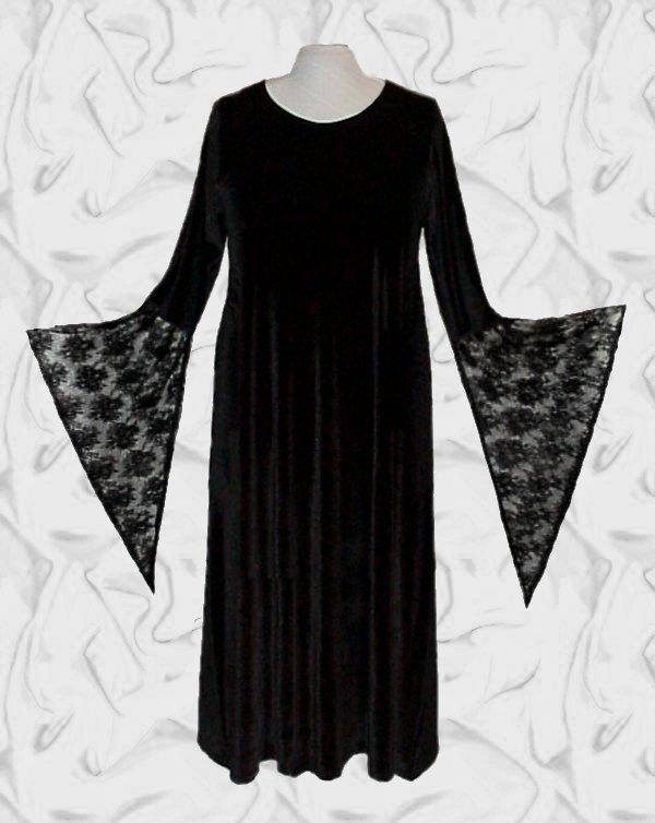 13db8ff6c8e SALE! Plus Size Double Lace Lace-up Bell Sleeve Dress Witch Vampiress  Vampire Halloween Costume Lg XL 1x 2x 3x 4x 5x 6x 7x 8x 9x